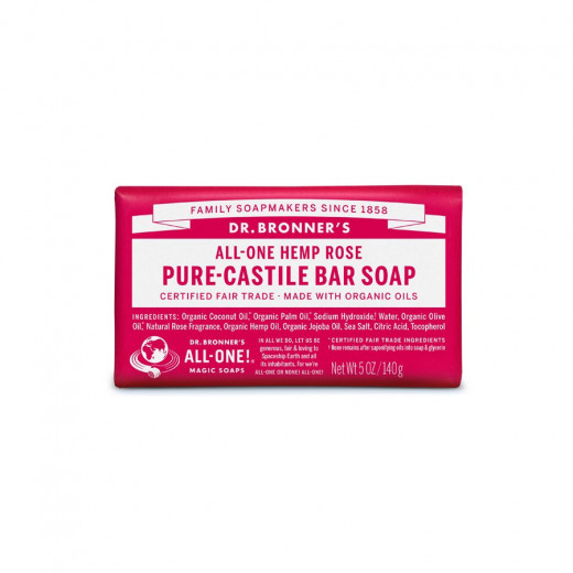 Bar soap Rose
