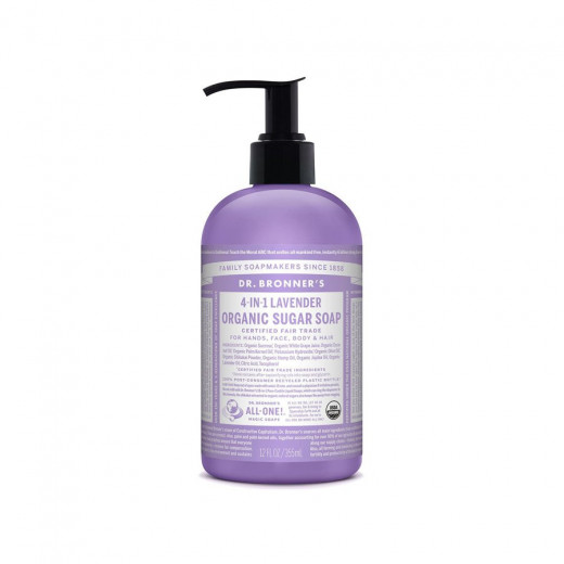 Sugar liquid soap lavender