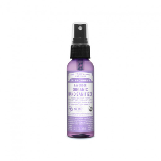 Hand disinfectant with organic lavender oil