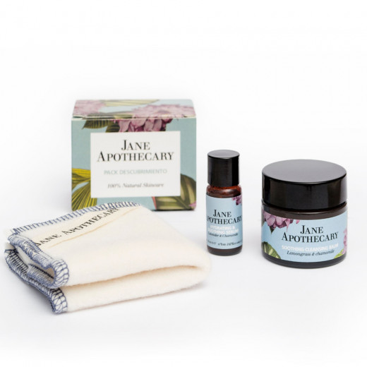 Discovery pack & organic cotton wipe