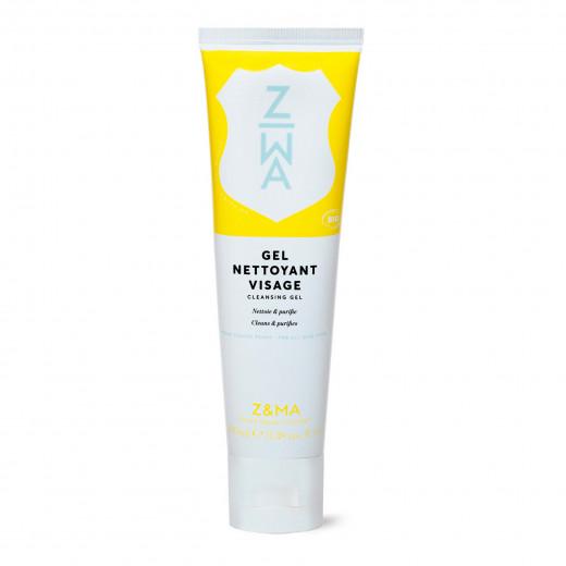 Facial cleansing aloe gel