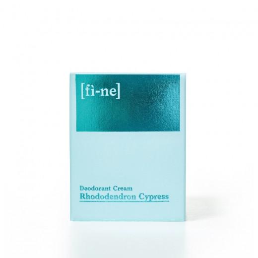 Rhododendron Cypress Cream Deodorant