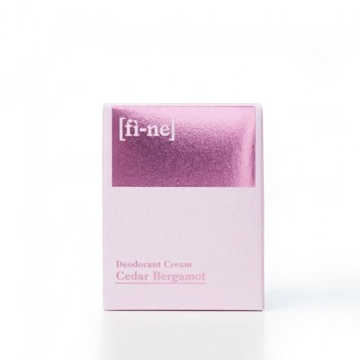 Cedar Bergamont Cream Deodorant