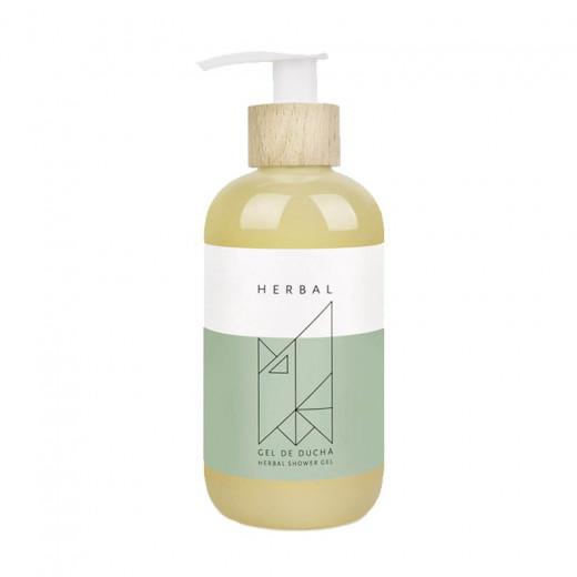 Herbal shower gel
