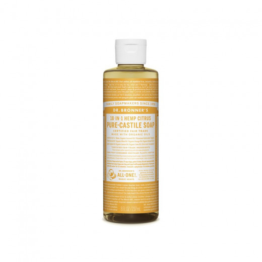 Citrus-orange liquid soap...