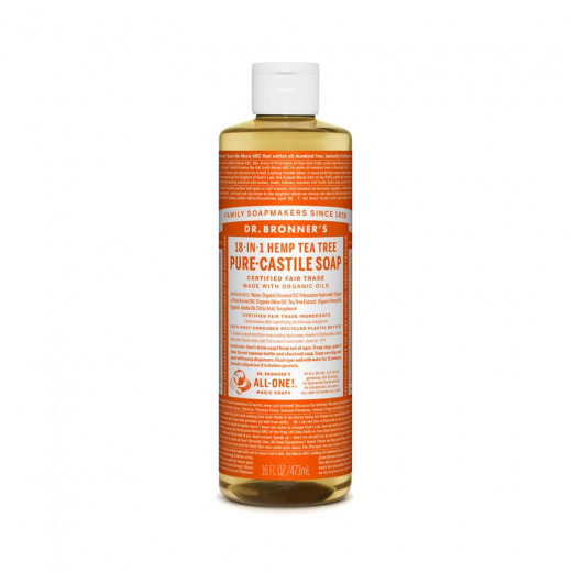 Teatree liquid soap 473ml